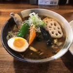 吉田商店 - やわらかチキンレッグカレー(スープアップ)