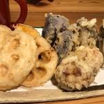 酒呑蕎食〆タグル - 野菜の天ぷら