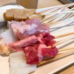 神楽食堂 串家物語 - 料理写真:牛肉や豚肉など