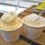 ちゃたまや - 料理写真:ジェラート 幸せのたまご(シングル・カップ)(左)& ジェラート 命のたまご(シングル・カップ)