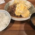 大阪トンテキ - とんたまダブル