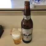 ますだや - 瓶ビール550円