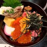 かんだ福寿 - 料理写真:三花丼