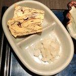 11956589 - <'12/3/4撮影>自家製豆腐御膳 1200円 の玉子焼き