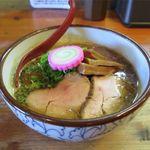 麺屋 高橋 - おさかな正油らーめん(850円)