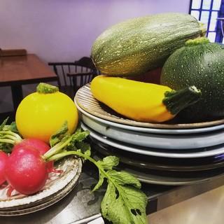 武蔵野近郊で採れる新鮮なお野菜