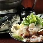 旬彩酒場 なごみ - てっちり鍋