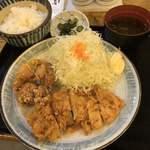 炭火やきとりと活な魚 串八珍 - 日替りランチ 780円