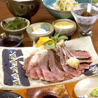 石垣美崎牛のサーロインステーキは絶品!