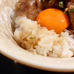 銀座うかい亭 - すき焼き風ご飯
