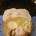 麺屋 明星 - 特製つけめんのスープ