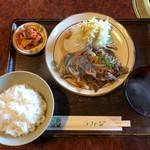 ラフィージ - 焼肉ランチ(炒め・牛)