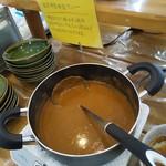 工場レストラン健食たぬみせ - 納豆カレー