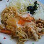 工場レストラン健食たぬみせ - お惣菜の数々。
