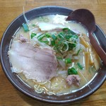 新進亭 - 白味噌ラーメン