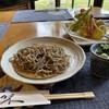 むか井 - 料理写真:そば御膳(桜・海老)