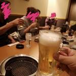 119584692 - 最初の1杯だけビール