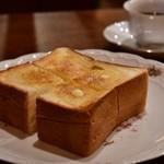 れいの - バタートースト@450円