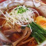 房州麺処 麺屋ちゃいなはうす - 三元豚チャーシューメン(醤油) 1380円