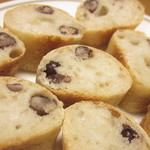 coton bakery - 大納言の断面あっぷ