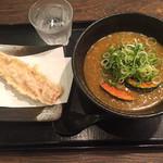 麺匠 空海 - 料理写真:カレーうどん・ちくわ天トッピング