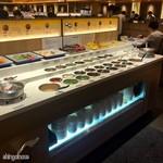海底撈火鍋 - タレを作るコーナー