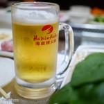 海底撈火鍋 - 生ビール
