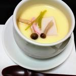 119592499 - 奥久慈しゃもの卵の茶碗蒸し