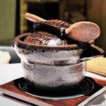 119595521 - 絶品のスペシャリテ、魚介のオジャ(話題の信楽焼)