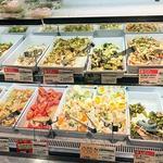 キッチンオリジン - お惣菜コーナーPart2。サッパリ系なサラダ類。