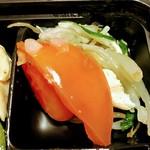 キッチンオリジン - 【蒸し鶏とトマトのサラダ】?価格¥183.60(税込)/100g
