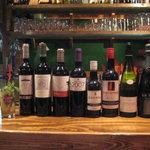 eL MamBo - グラスで色んな種類のワインが楽しめます
