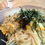 ピノッキオ - 炒り卵と高菜の和風スパゲッティ