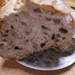 木のぼりパン - カンパーニュ くるみ入り