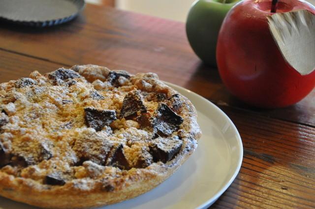 GRANNY SMITH APPLE PIE & COFFEE  三宿店 - こちらは「クラシックラムレーズン」。味も見た目も違う4種類のアップルパイをご用意しております。