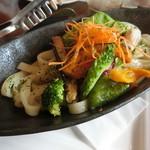 レストラン シャンモリ - ほうとう麺のパスタ