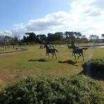119604797 - 馬の銅像