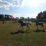 119604876 - 馬の銅像
