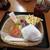 道の駅みさわ くれ馬パークレストラン - 料理写真:エアフォースバーガーセット¥660