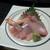 福水 - 料理写真:お刺身(メバル?、ズワイ、ハマチ、平目)
