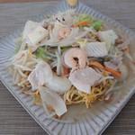 中華そば 富いち - 料理写真:海鮮あんかけ焼きそば