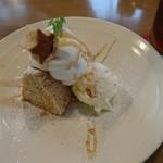 ダンデライオンカフェ - シフォンケーキ