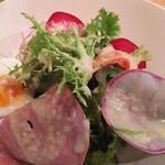 ミネット - 料理写真:前菜サラダ