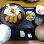 時葵 - 料理写真:カキフライ定食 1200円