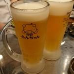 とんちゃん - 生ビール 550円