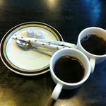 お食事処とりいち - 食後の「ホットコーヒー」