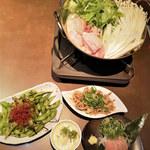 119620385 - 名古屋コーチンと野菜の水炊き