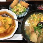 119620712 - 塩ラーメン&ミニ天津丼