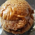 せたパン - キーマカレーバーガー(260円)