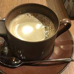 明神カフェ - ホットコーヒー